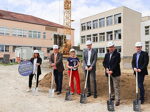 Spatenstich für für Bildungscampus Gesundheit Weser-Egge (c) KHWE